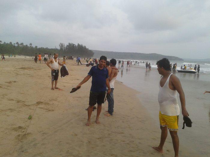 Beach in Guhagar